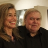 Dr. Cornelia Mensdorff-Pouilly and H.R. Giger